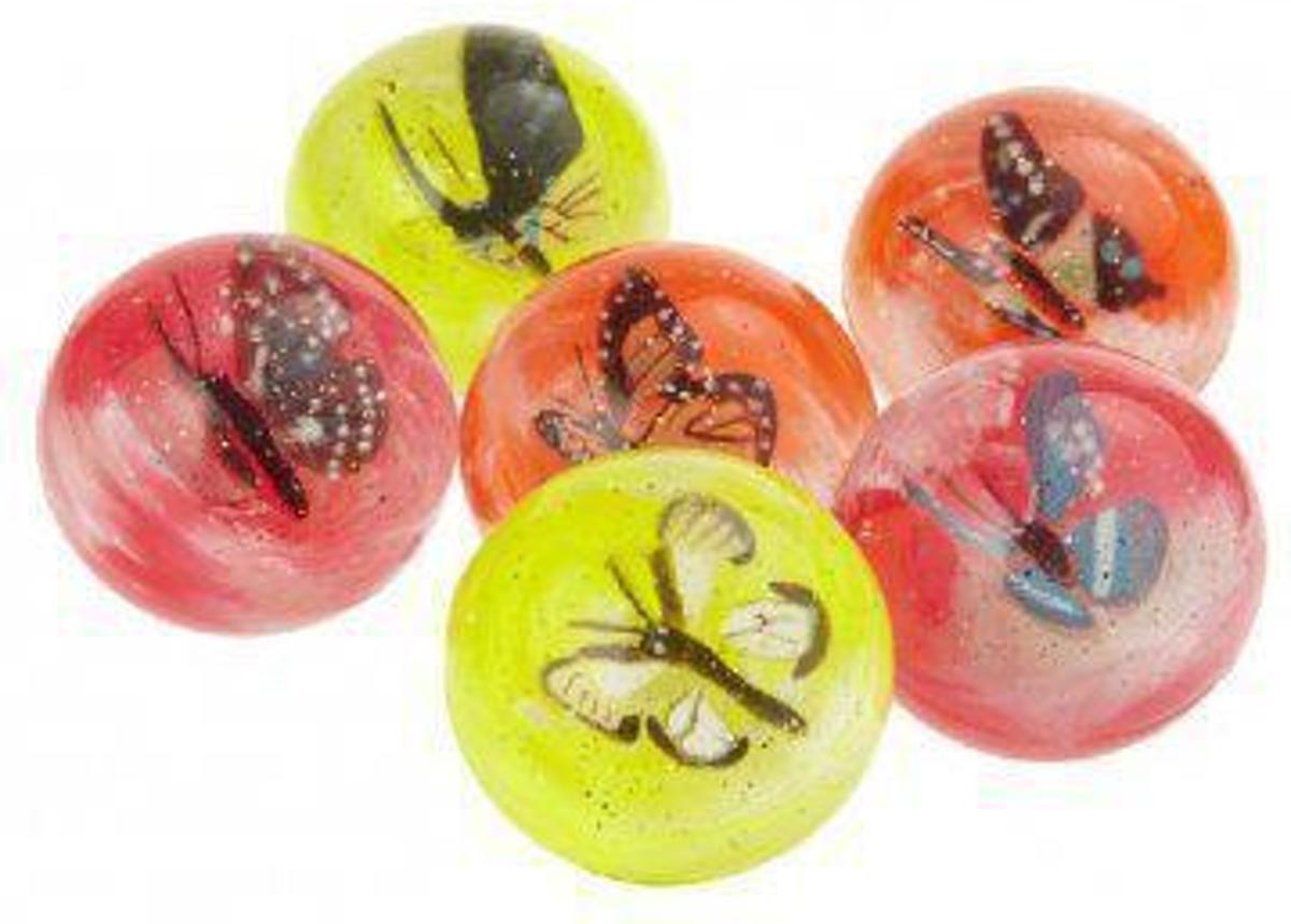 Stuiterbal Met Licht : Bol stuiterbal met vlinder cm fun feest party gadgets