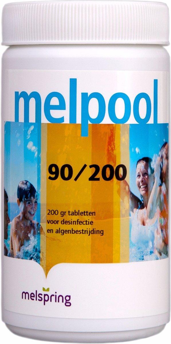 Melpool 90/200 Chloortabletten 1 kg Stabiel