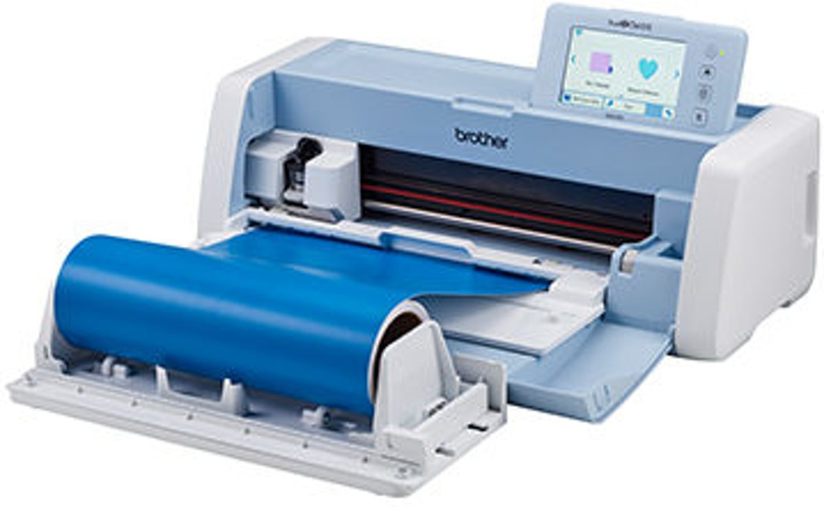 BROTHER SCANNCUT SDX1200  incl. GRATIS ROLHOUDER en de Nieuwste CANVAS SOFTWARE en 2 JAAR GARANTIE