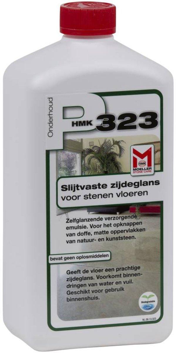 HMK P323 Slijtvaste zijdeglans voor natuursteen- en betonvloer - 1ltr kopen