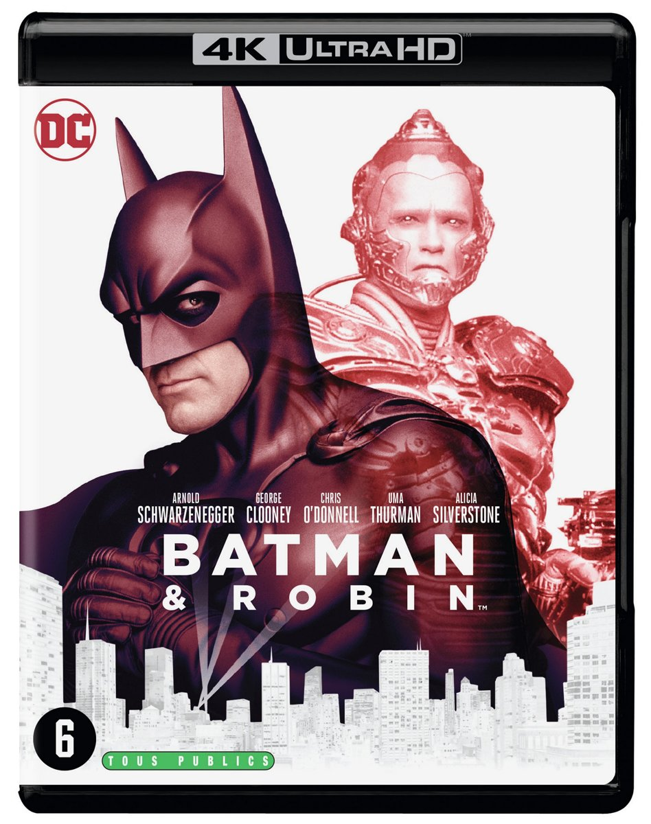 Batman & Robin (4K Ultra HD Blu-ray)-