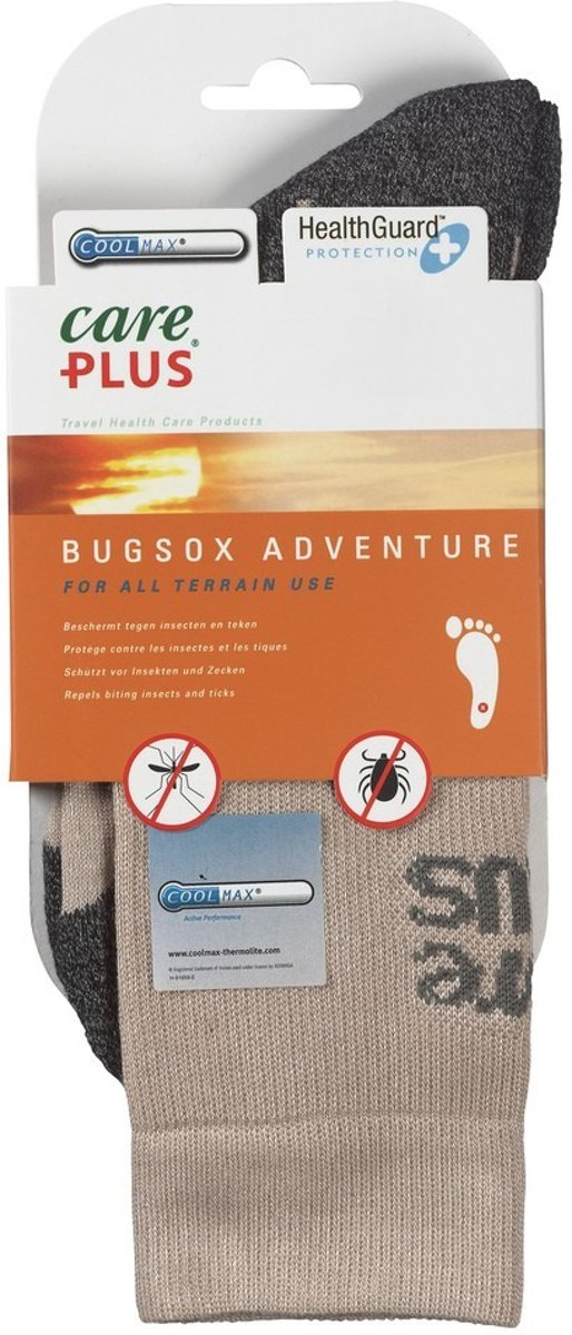 Care Plus? Bugsox Adventure, Khaki; size 44-47 kopen