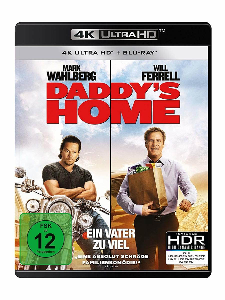 Daddy's Home (Ultra HD Blu-ray & Blu-ray)-
