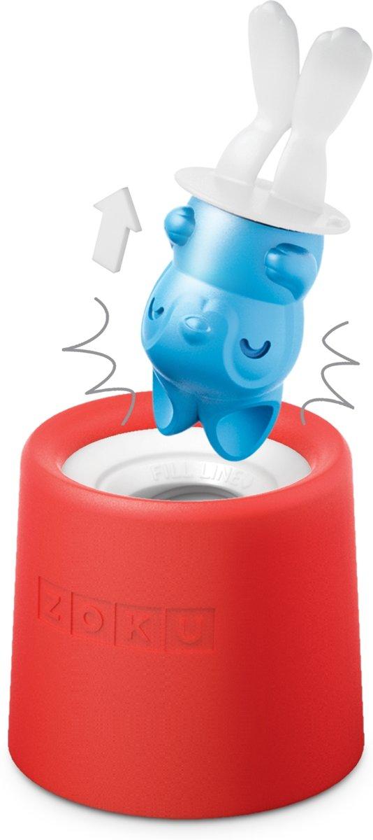 ZOKU Icelolly Pop Maker Rood Konijn kopen