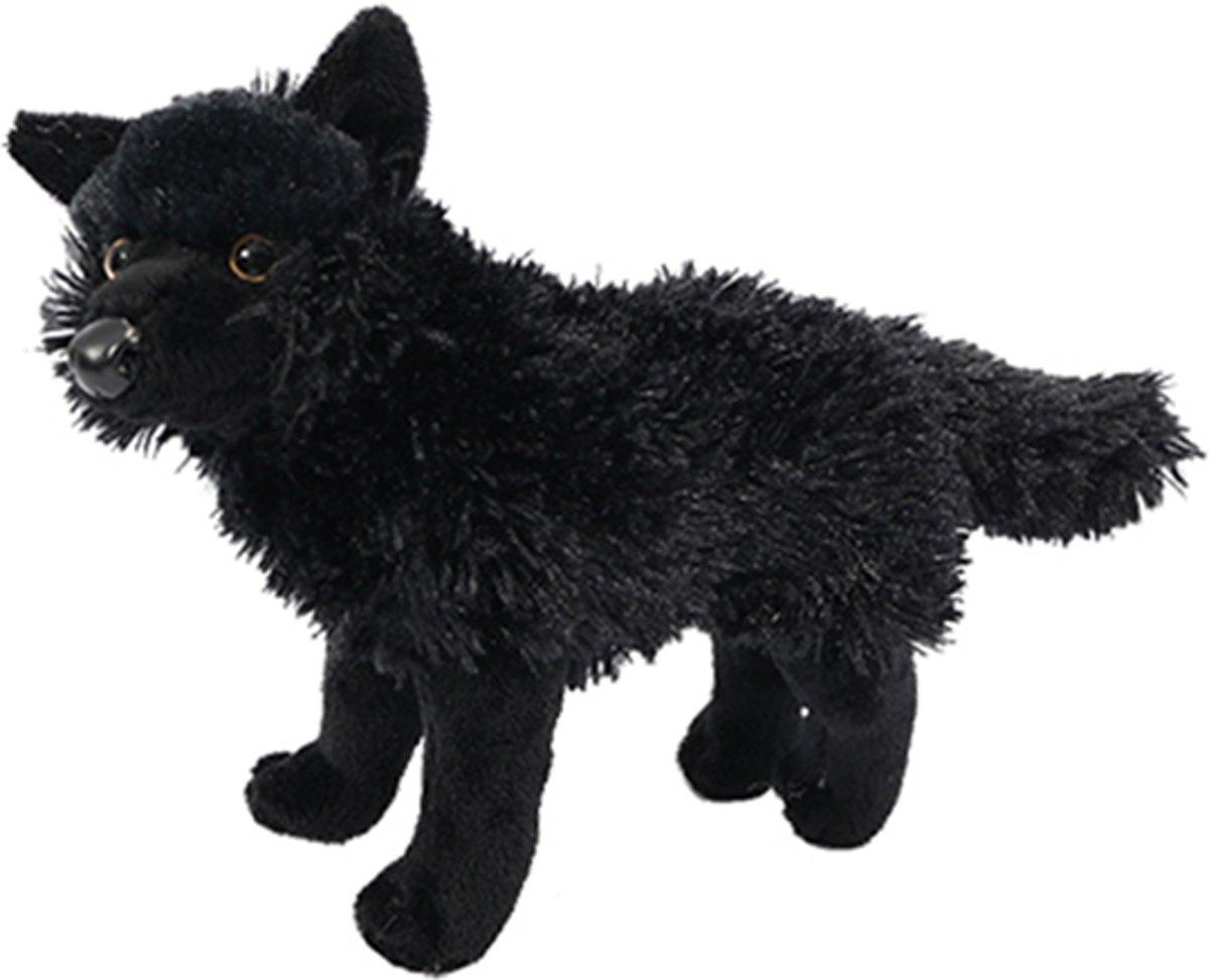 Afbeelding van product PIA Soft Toys  Wolf zwart zittend 26 cm