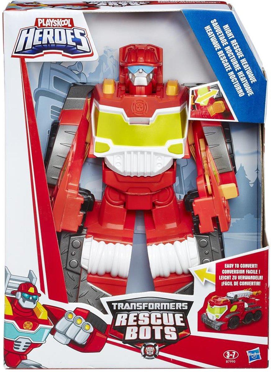 Transformers Rescue Bots Megabot Night Rescue Heatwave 25 cm kopen