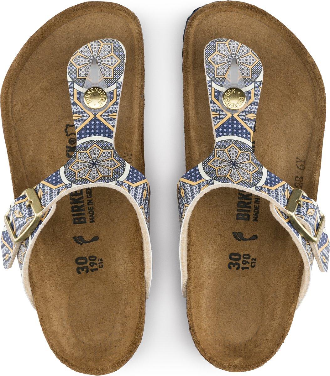 Birkenstock Gizeh oriental mosaic narrow sandalen meisjes (S)
