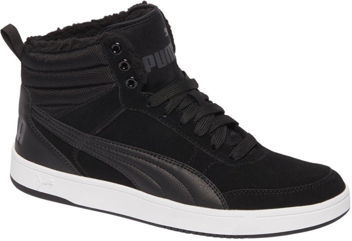 Puma REBOUND STREET Sneakers hoog peacoat white Schoenen