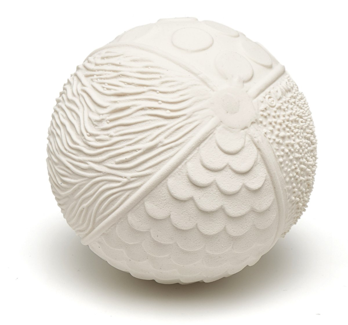 Lanco - Sensory Rubberen bijtspeeltje bal naturel