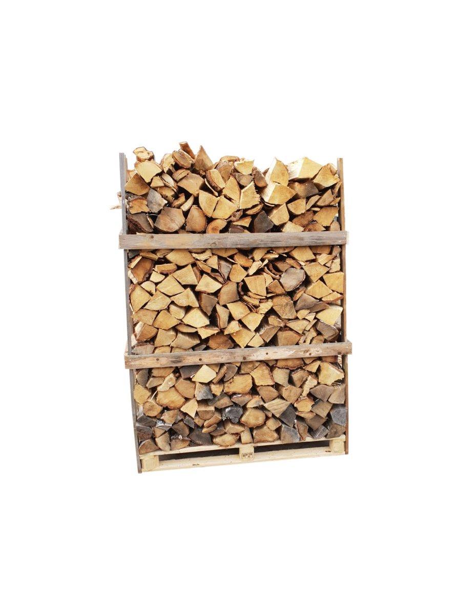 Haardhout Berkenhout – 1,6 kuub gestapeld - 700 houtblokken kopen