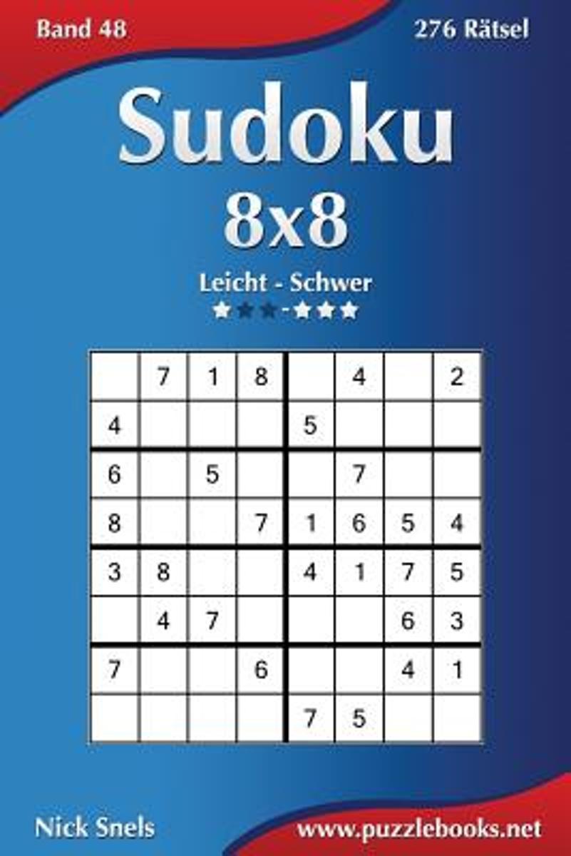 bol.com | Sudoku 8x8 - Leicht Bis Schwer - Band 48 - 276 Ratsel ...
