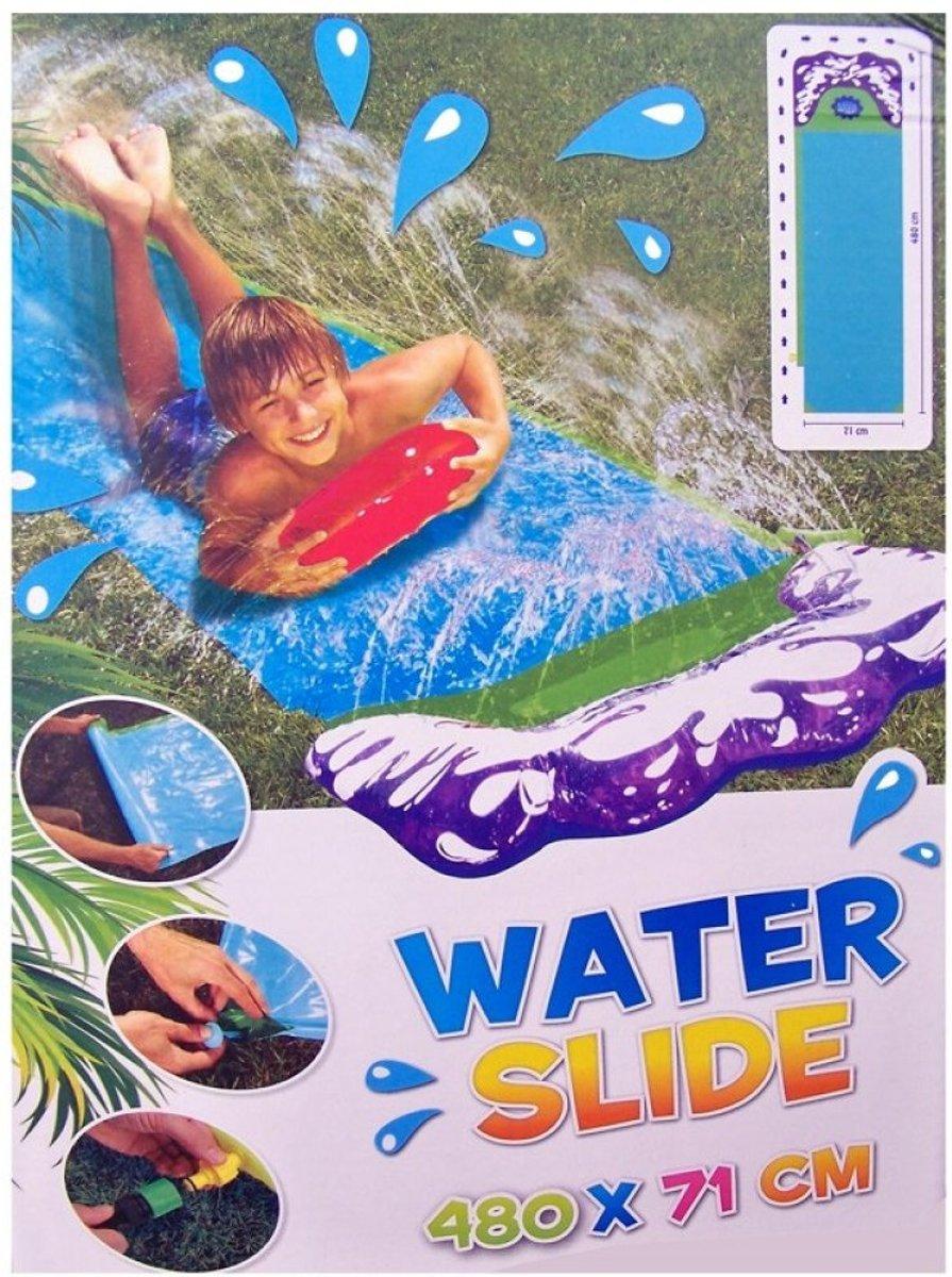 Waterglijbaan, glijmat