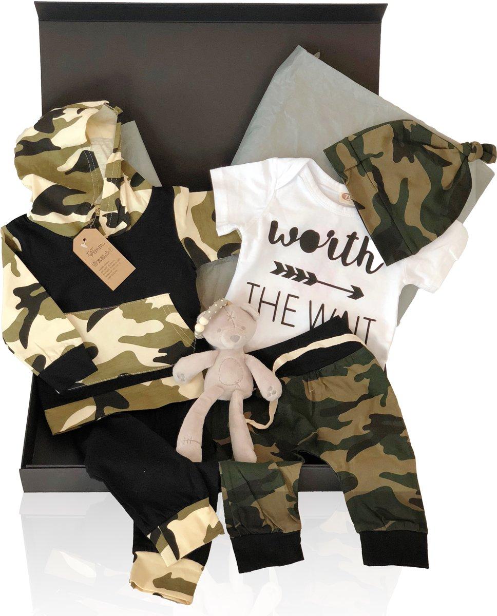 So Cool Baby - Kraamcadeau Army Deluxe - Geschenkset