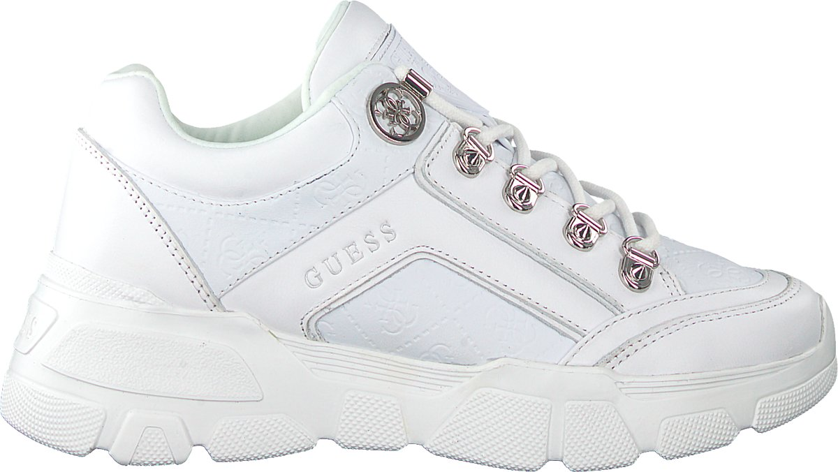   Guess Dames Sneakers Sike3 Wit Maat 39