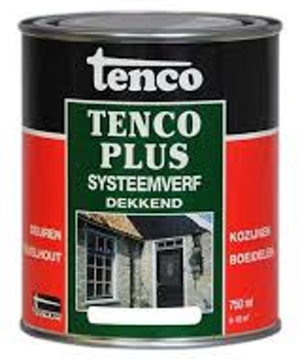 Tencoplus Systeemverf Dekkend - 2,5 ltr - Donkergroen 651