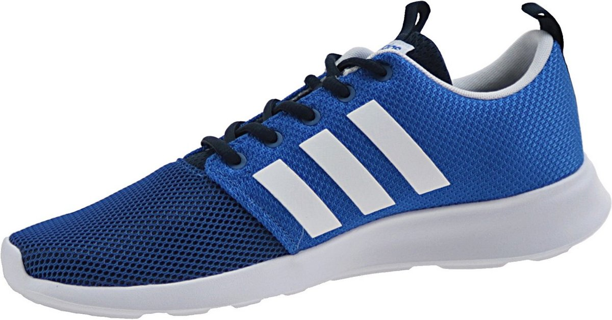 Mousse Nuage Adidas Aw4155 Rapide, Les Hommes, Bleu, Chaussures Taille 40 2/3 Ue
