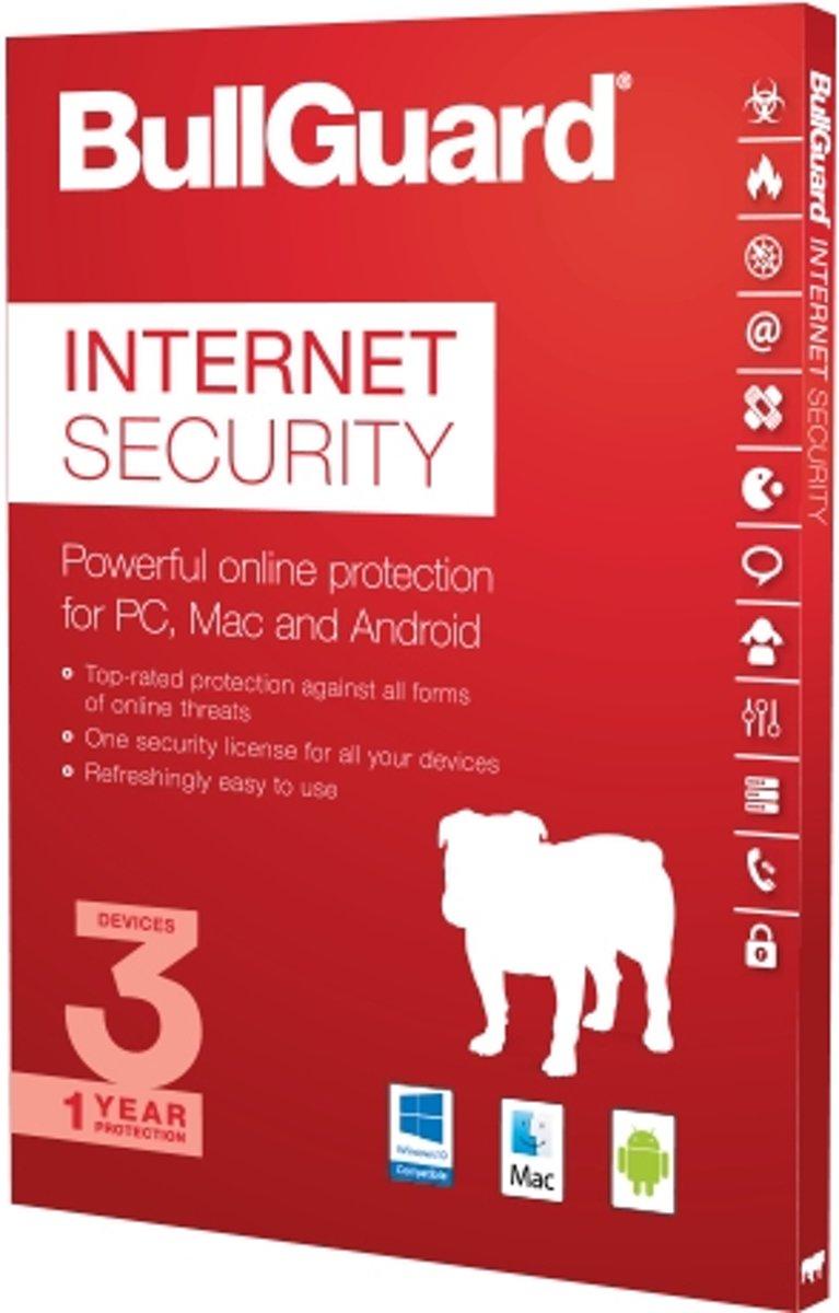 BullGuard Internet Security 2017OEM1Year1User100 MB25 Pack kopen