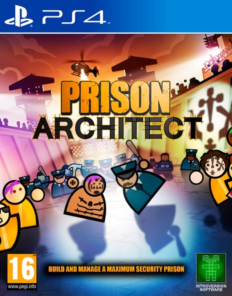 Prison Architect /PS4 kopen