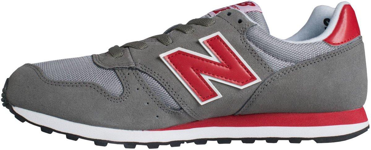 Nouvelles Chaussures Ml373 De La Balance Des Blancs Rouge Gris UzsNyNou
