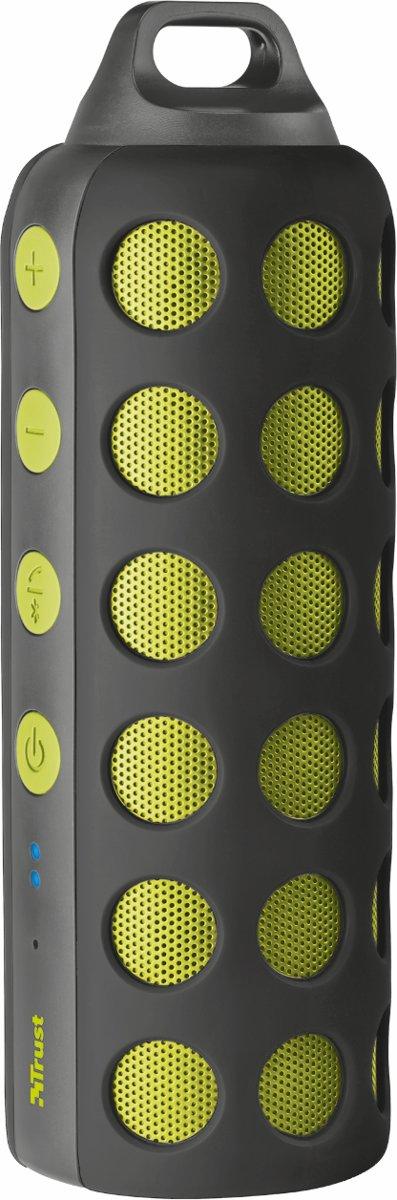 Trust Urban Ambus draadloze draagbare speaker - Zwart/Groen kopen