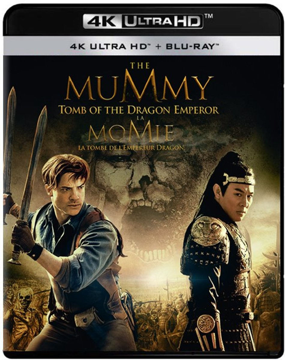 The Mummy 3: Tomb Of The Dragon Emperor (2008) (4K Ultra HD Blu-ray)-