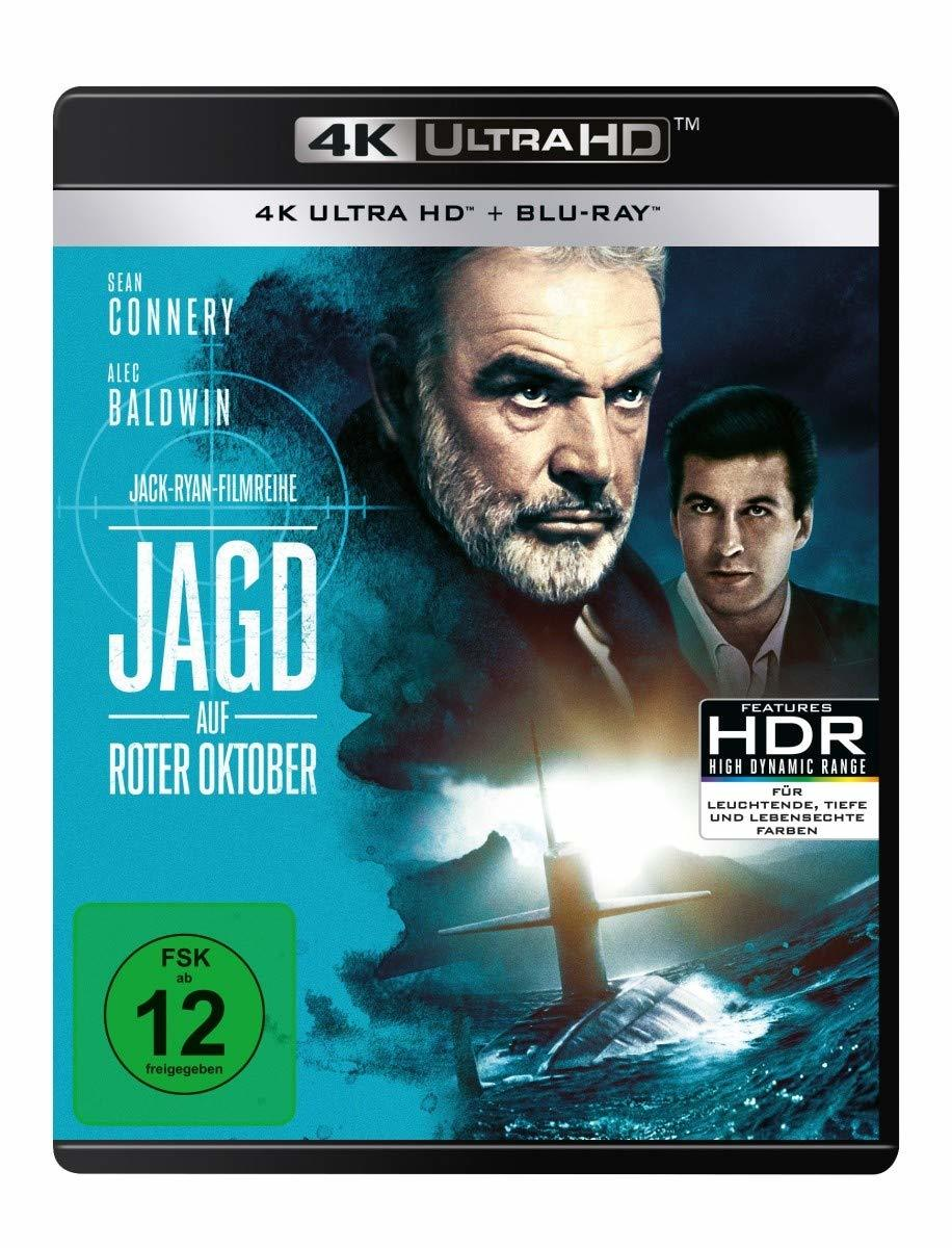 Hunt For Red October (1989) (Ultra HD Blu-ray & Blu-ray)-