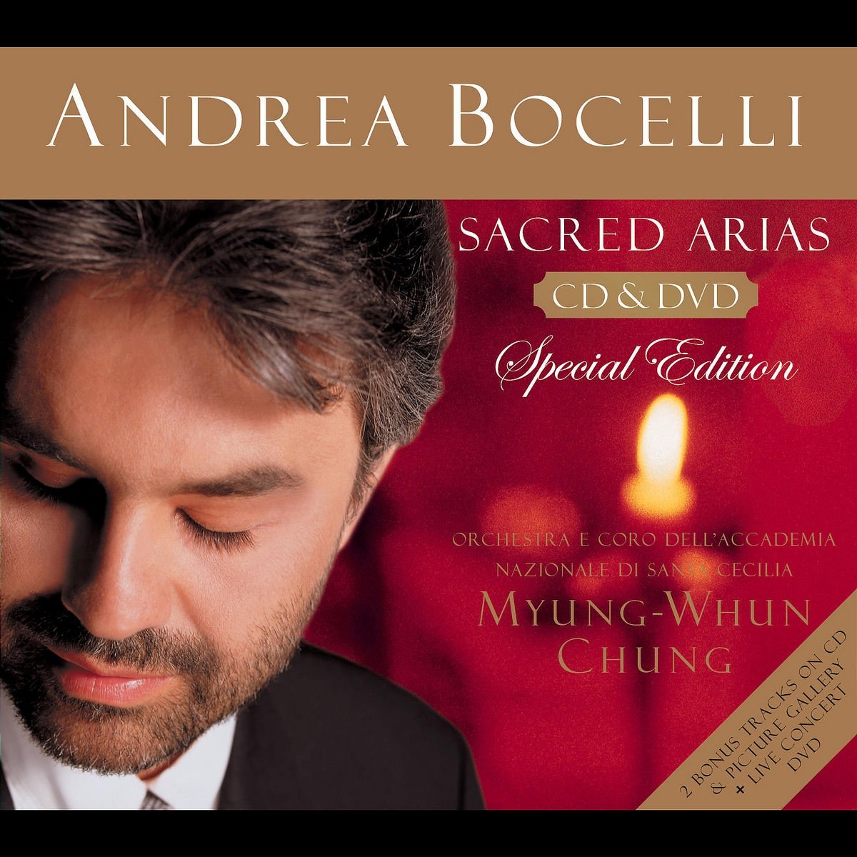 Sacred Arias Cd + dvd kopen