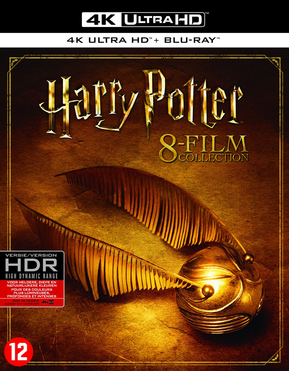 Harry Potter - Complete 8-Film Collection (4K Ultra HD Blu-ray)-