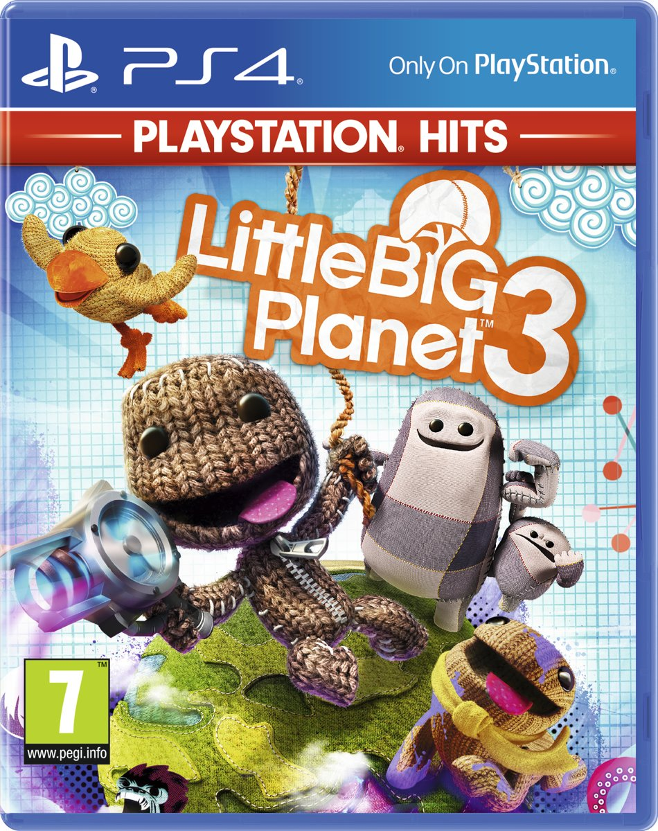 LittleBigPlanet 3 - PlayStation Hits PlayStation 4
