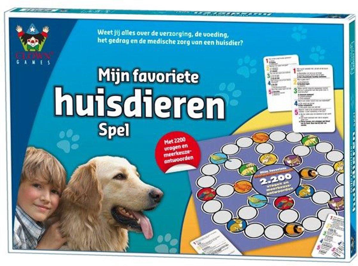 Clown Games  Mijn favoriete huisdieren spel - Bordspel