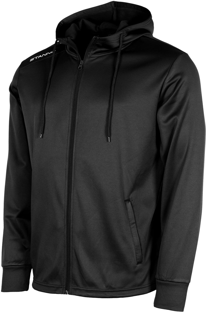 Stanno Field Hooded Top Full Zip Sportjas Heren - Black