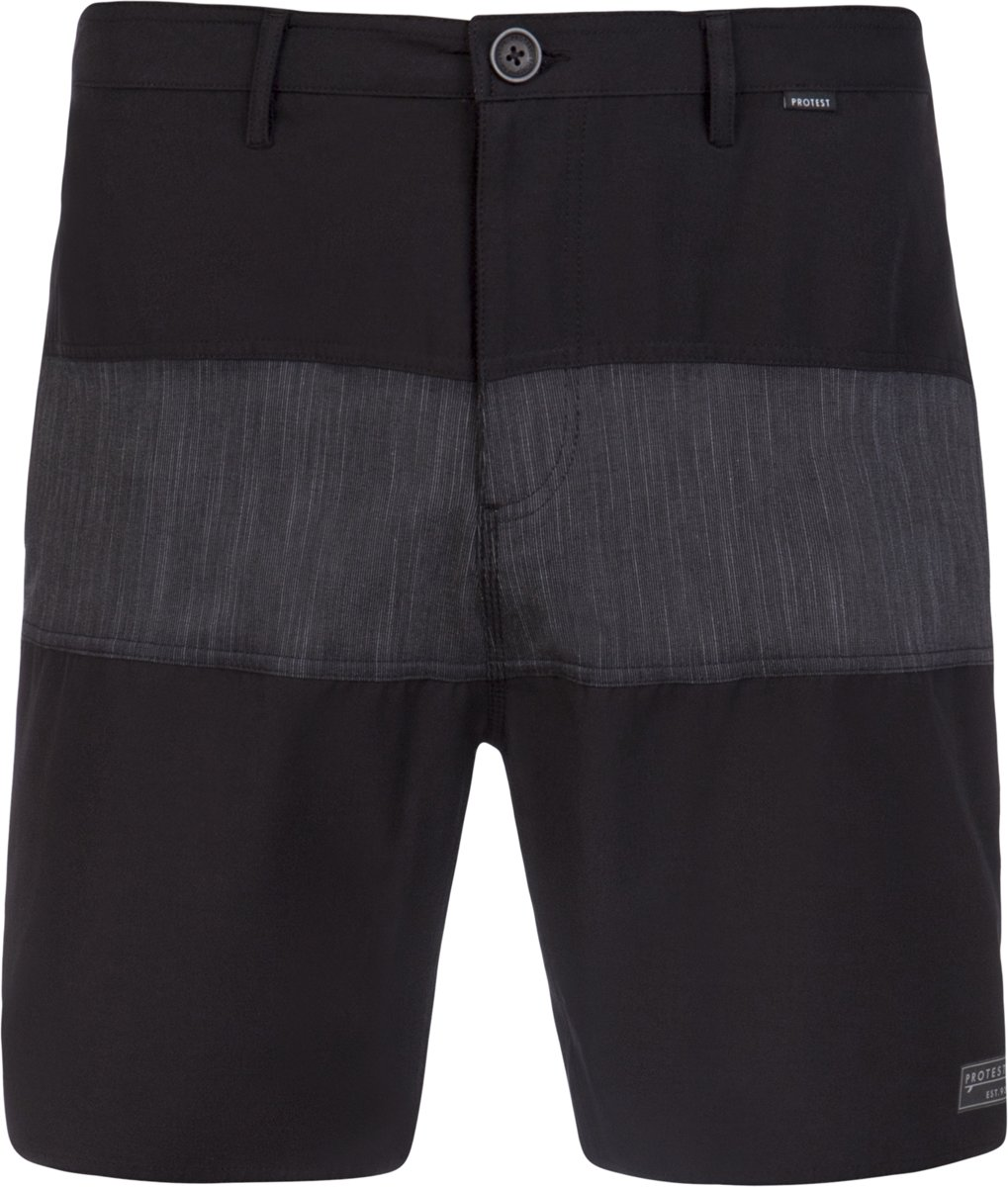 Protest NOGO Surfable Short Heren - True Black - Maat XL kopen