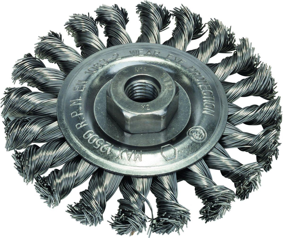 Bosch - Schijfborstel voor haakse en rechte slijpmachines - gevlochten draad, 115 mm 115 mm, 0,5 mm, 12500 o.p.m. kopen