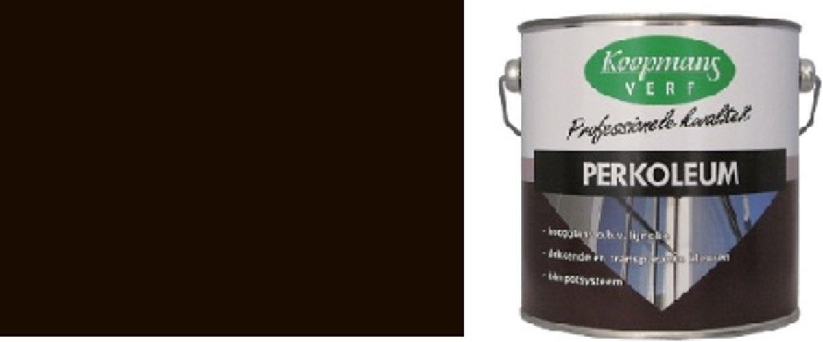 Perkoleum Dekkend Hoogglans 240 Antiekbruin 2,5L