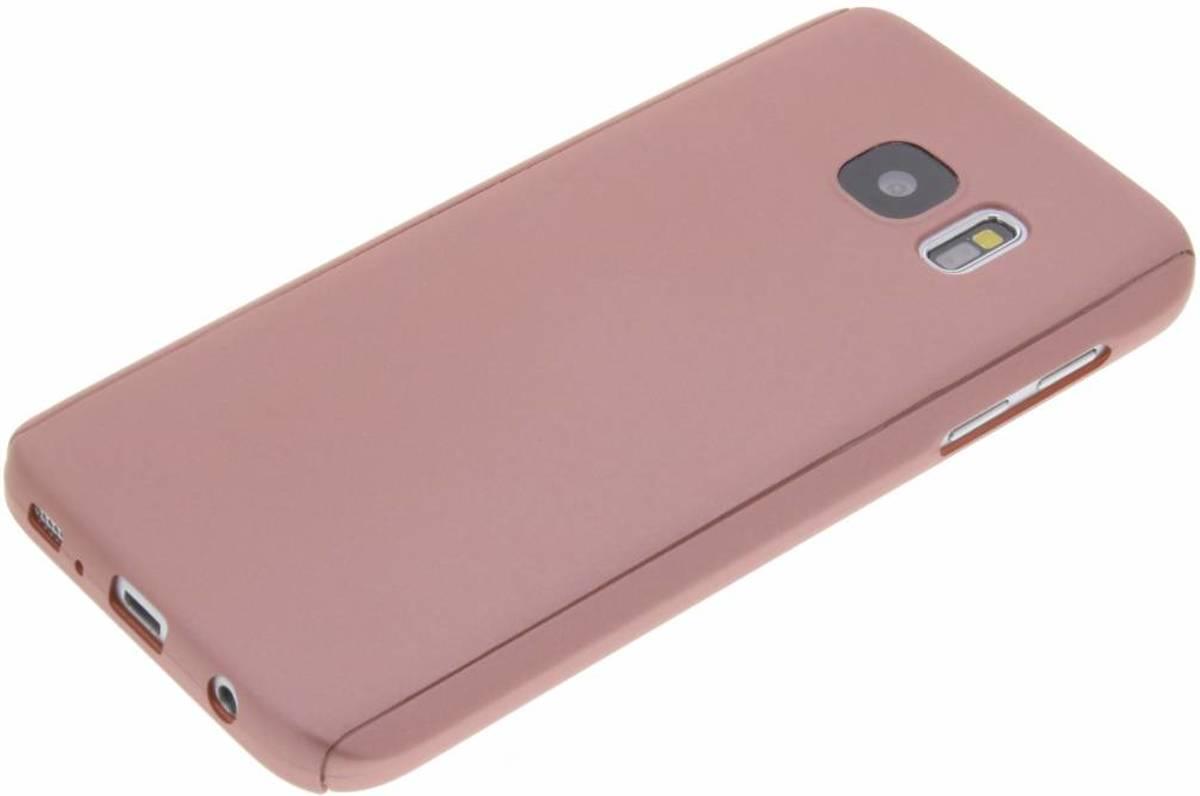 Rose Plaine Protéger Cas À 360 ° Pour Samsung Galaxy J5 eekN6wA