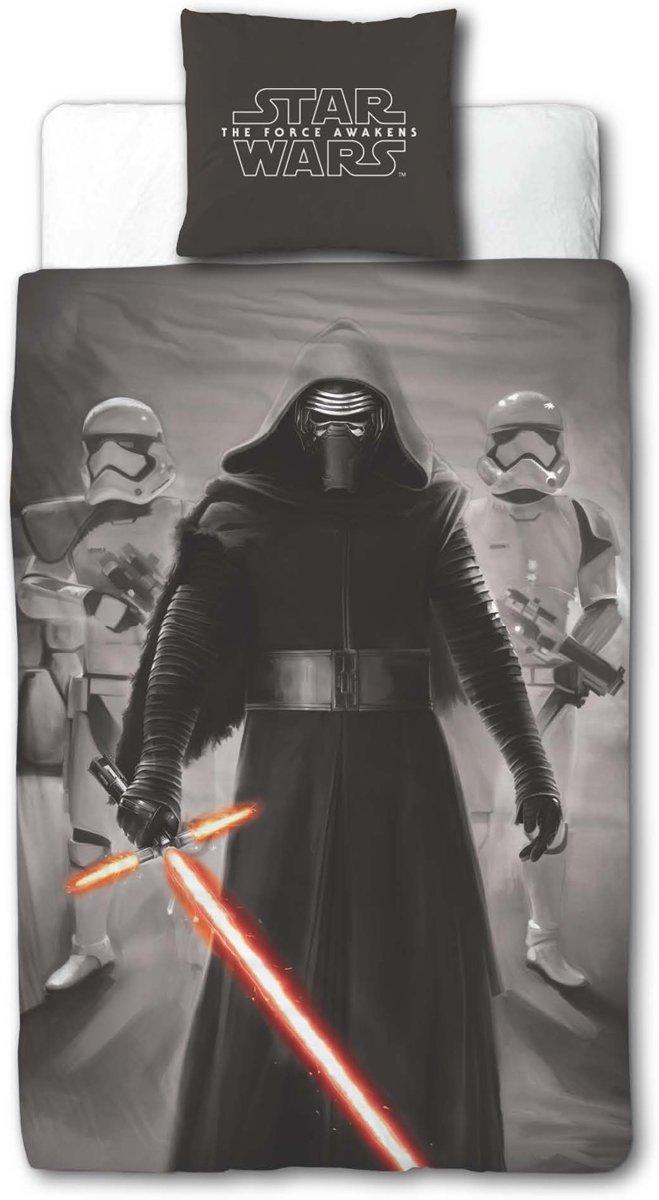 Star Wars The Clone Wars Dekbedovertrek-grijs kopen