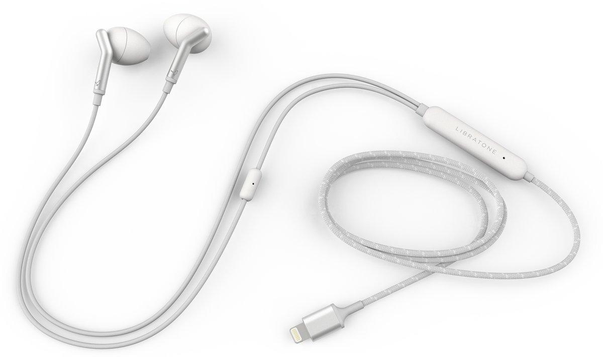 Libratone Q Adapt - In-ear oordopjes - Cloudy White kopen