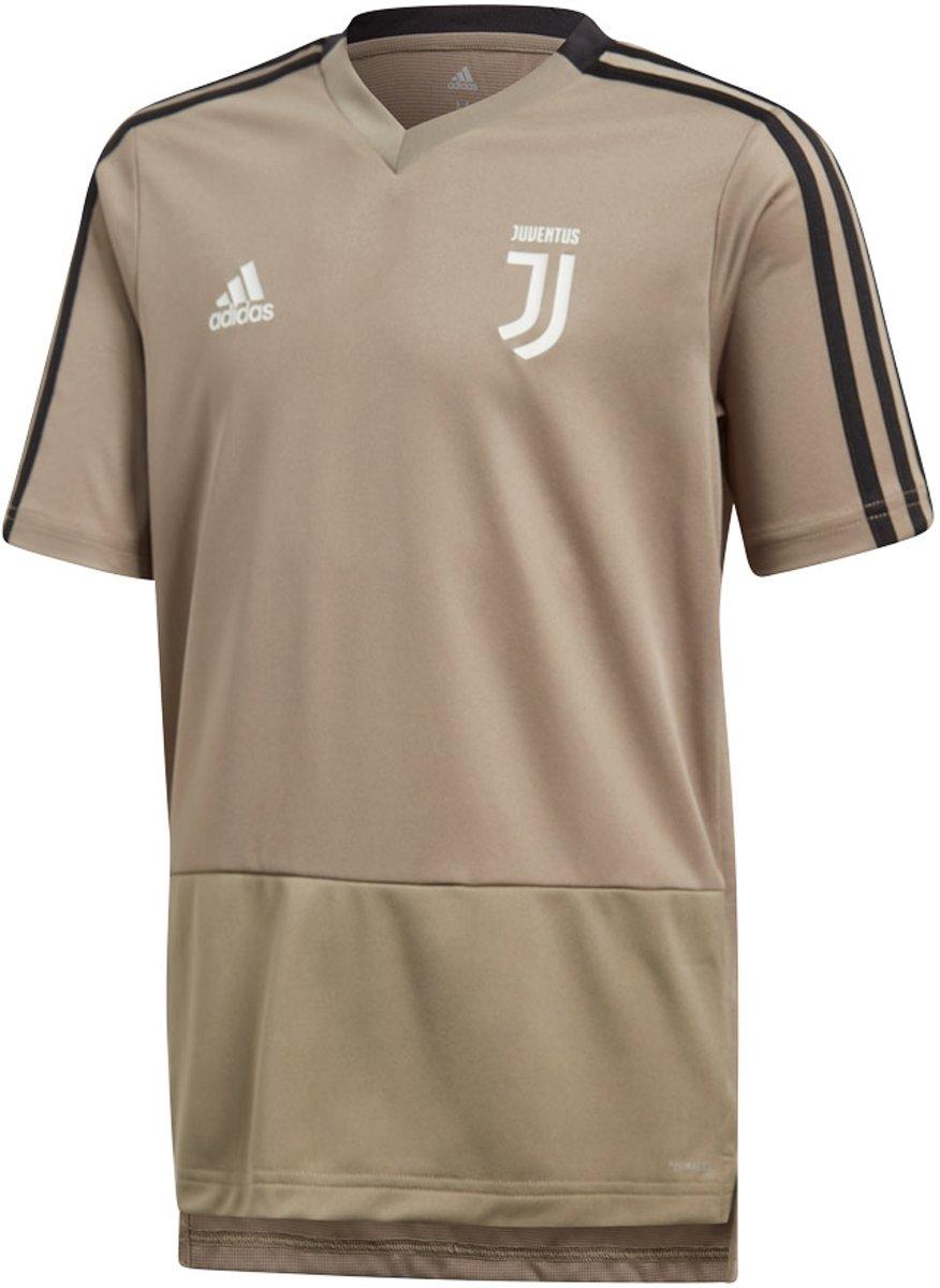 3b95ffbeaaa bol.com | adidas Juventus Trainings Shirt Junior Sportshirt - Maat 176 -  Mannen - beige/zwart