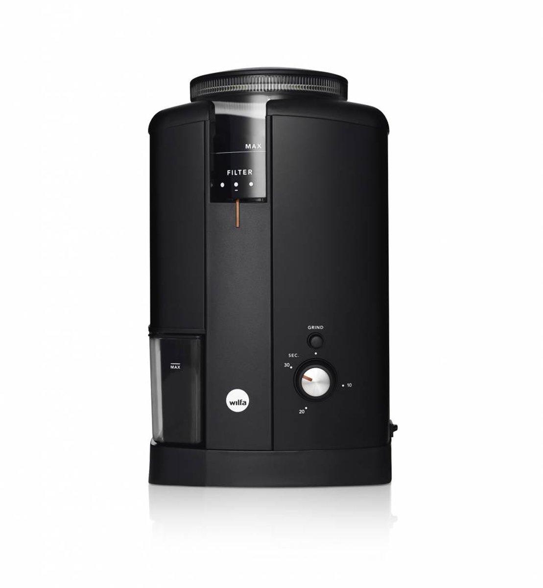 WilfaCGWS-130B Svart Aroma koffiemolen met stille DC motor kopen