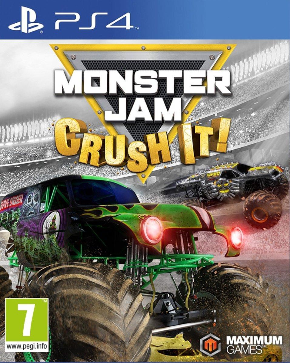Monster Jam Crush It PlayStation 4