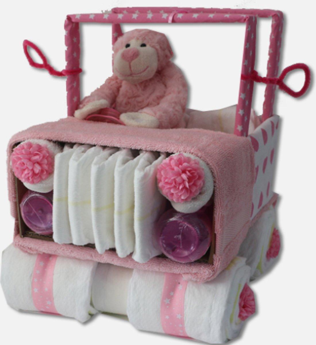 Jeep Luiertaart Roze kopen