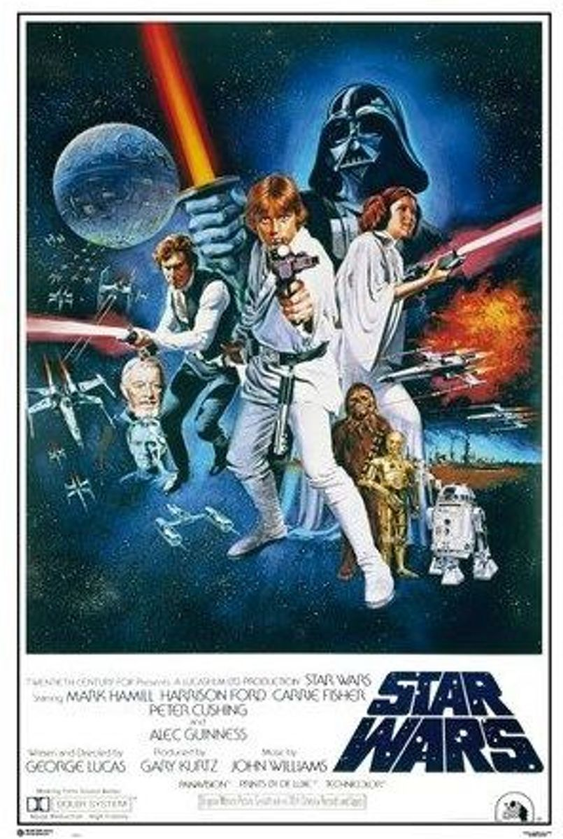 Star Wars-4-Episode IV-A New Hope-Film-Poster-61x91.5cm. kopen