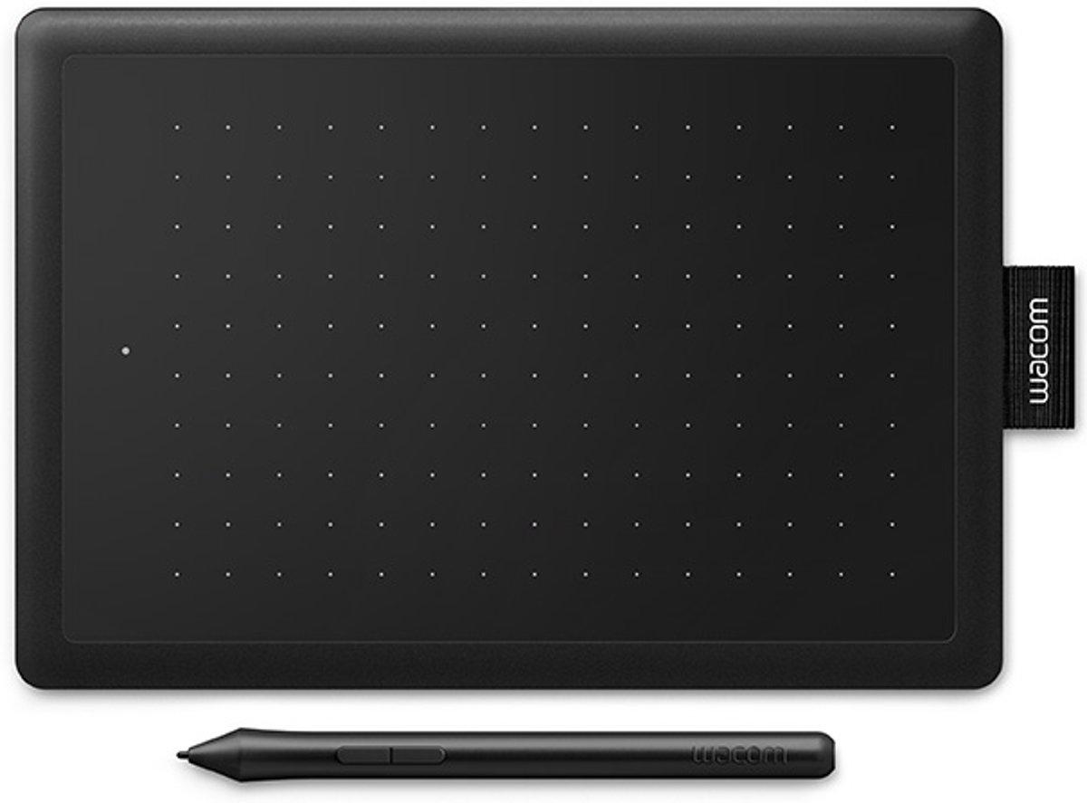 Wacom One Small zwart/rood grafische tekentablet kopen