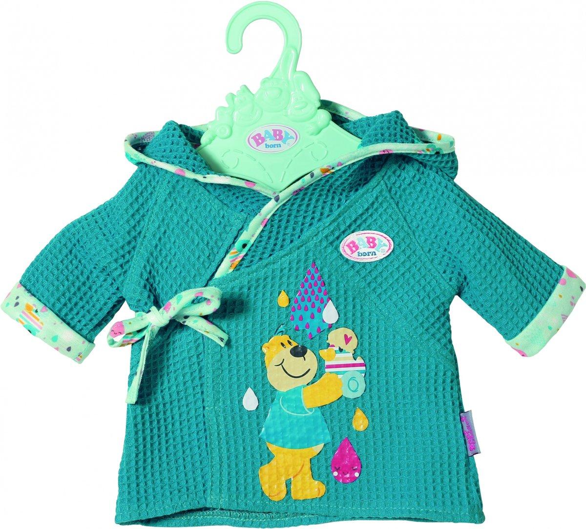 Baby Born Badjas 43 Cm Blauw