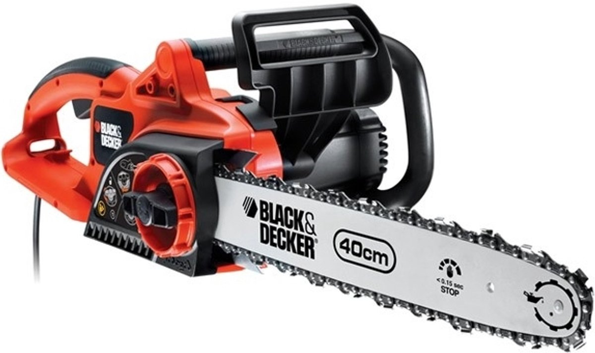 BLACK+DECKER - GK2240T - Elektrische Kettingzaag - 2200W - 40 cm Zwaardlengte - Met SDS - systeem