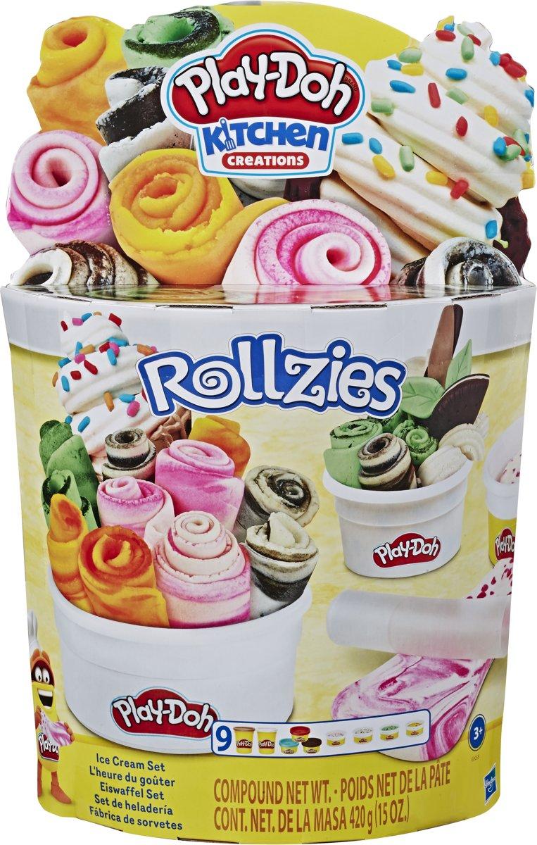Play-Doh Ijswafel set - Klei Speelset