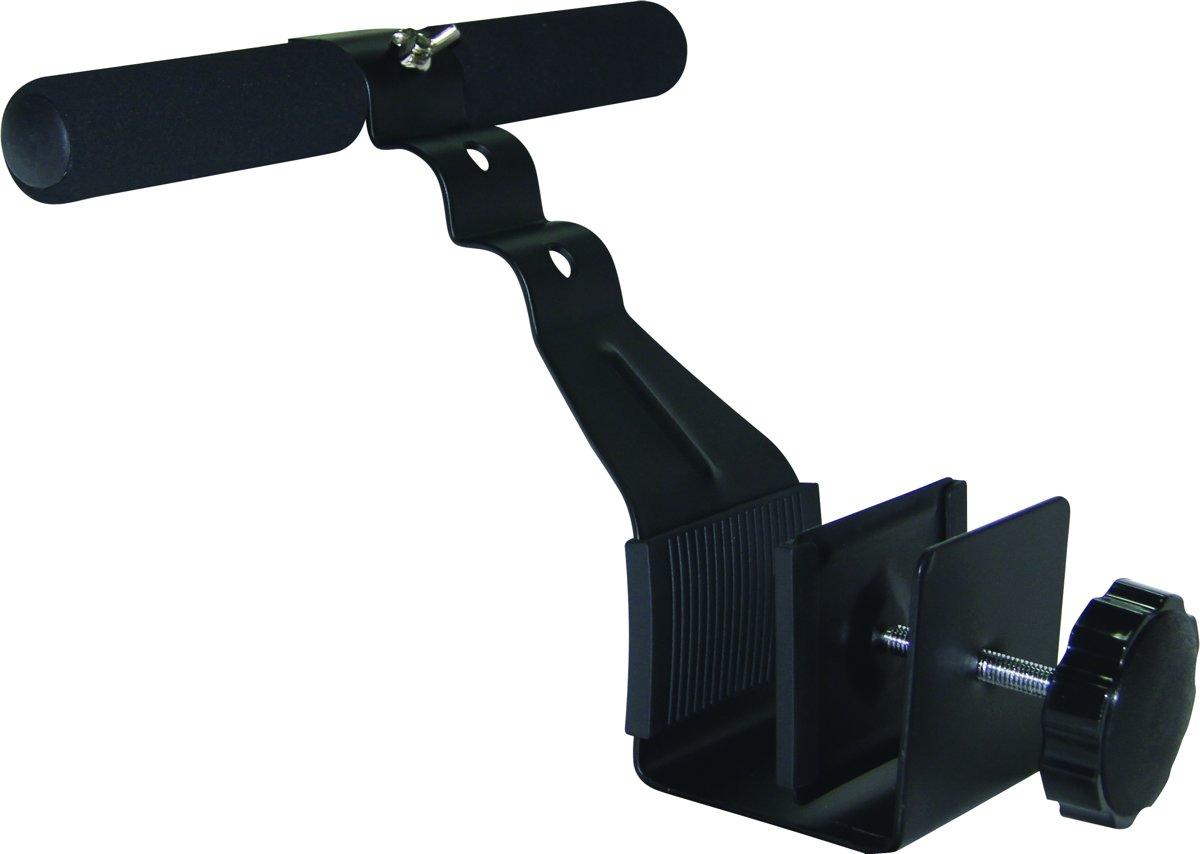 Tunturi Deur Buikspiertrainer - Buikspierapparaat - Buikspierwiel - Zwart kopen
