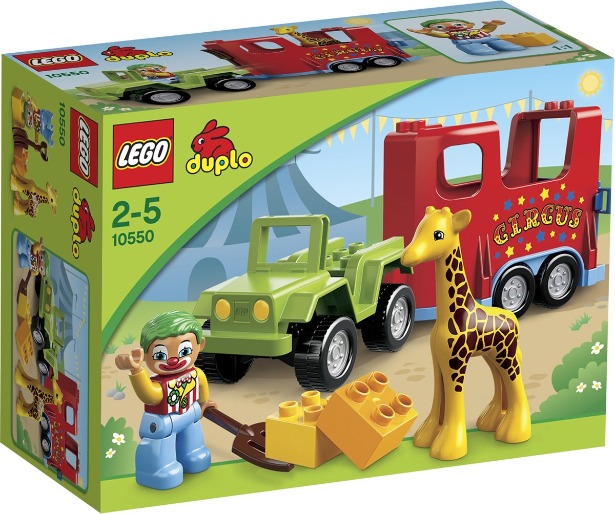 LEGO DUPLO 10550 - Circustransport