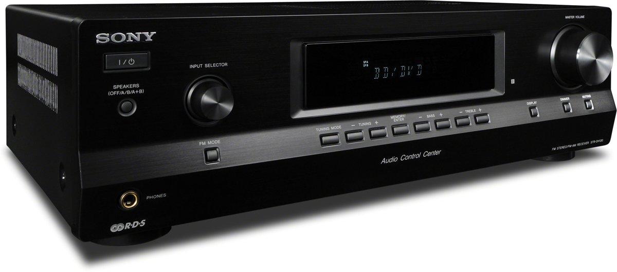 Nieuw bol.com | Sony STR-DH130 - Stereo versterker - Zwart NC-78