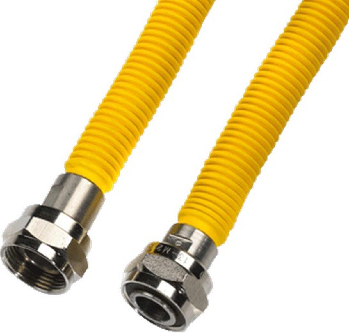VSH gasslang A1070, M24/1.5mm, le 1.2m, diam 19mm, slang RVS kopen